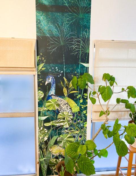 床・壁・天井クロスの貼り替え/洗面リフォーム(神戸市長田区マンション)