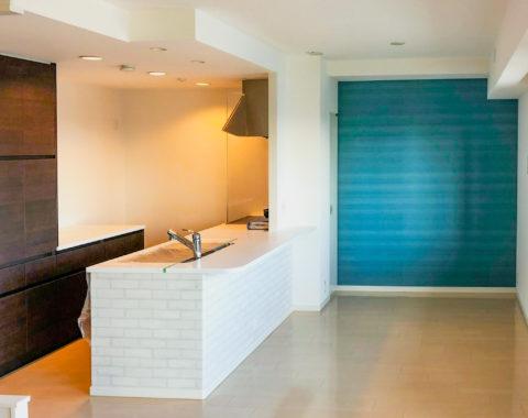 玄関からリビング・洋室内と全面クロス(壁紙)貼替えリフォームと同時ハウスクリーニング