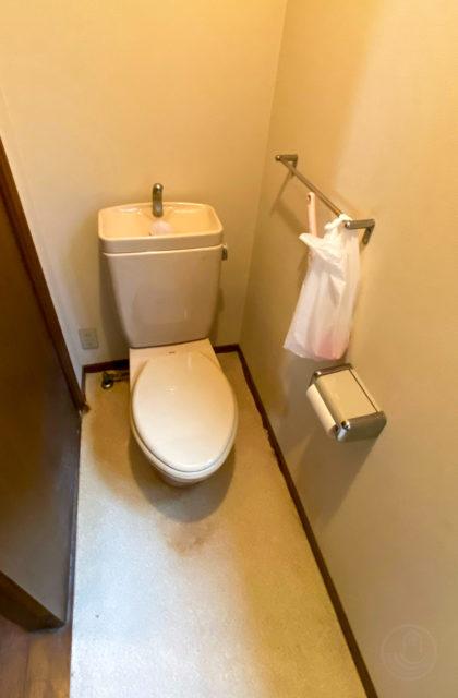 3階建住宅リフォーム/リフォーム前写真(2階トイレ)