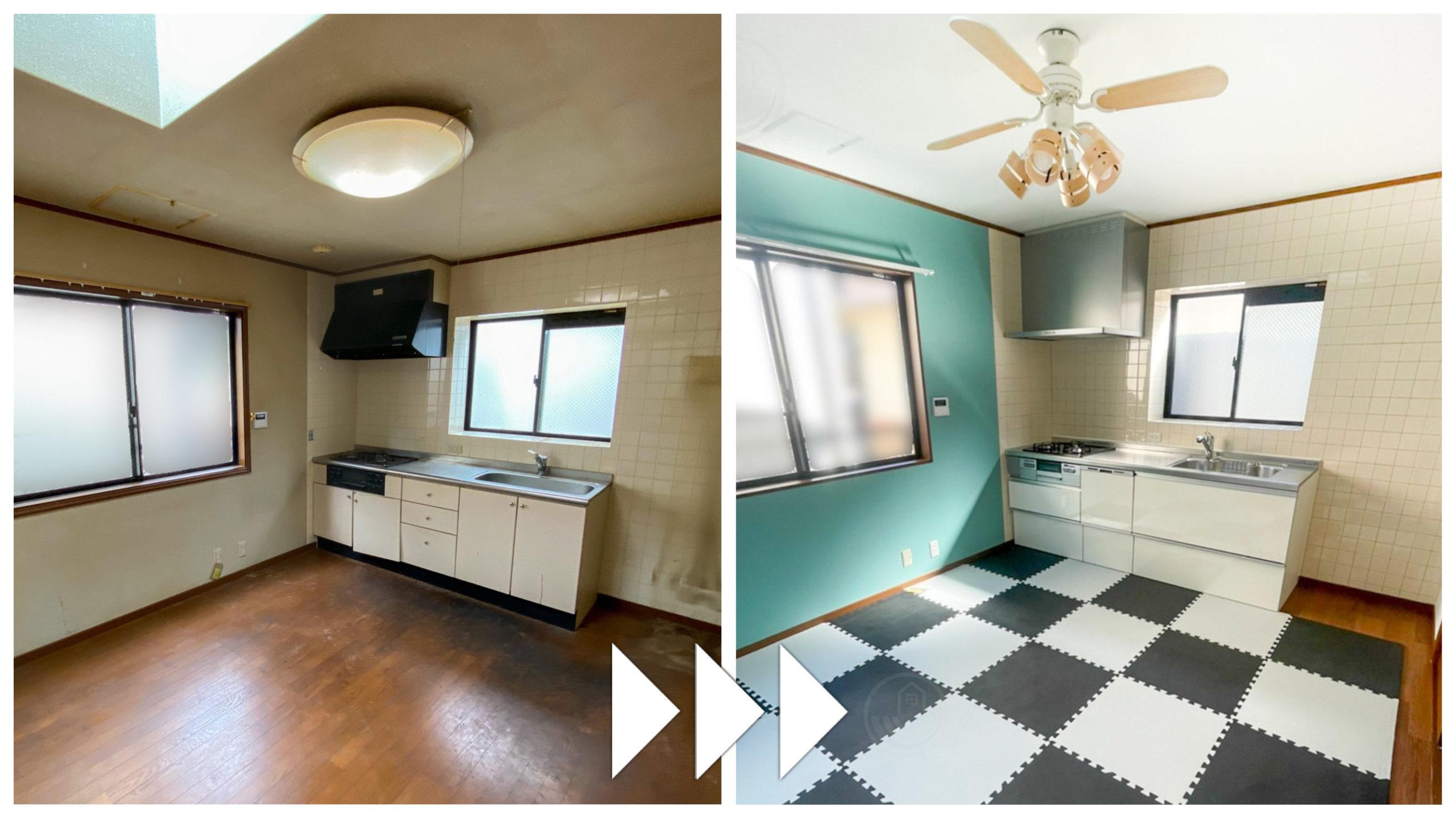キッチン「クリナップ ラクエラ」綺麗・強い・再利用可能なステンレス