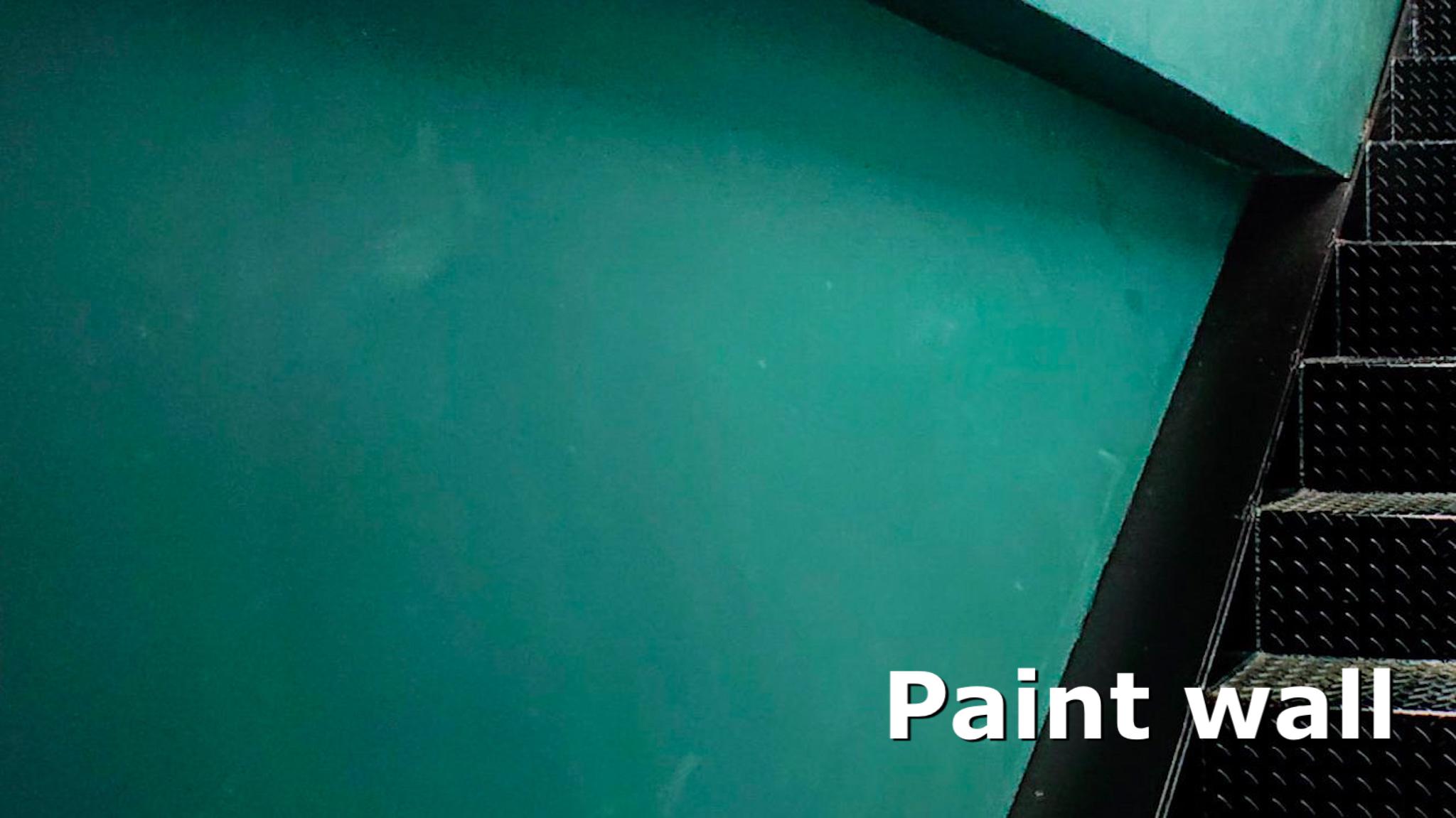 塗装・ペイントしておしゃれな壁へリフォーム(Paint wall)