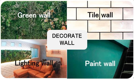 おしゃれな壁へリフォーム/DECORATE WALL